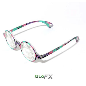 Aztec Style Frames with Clear Lenses - Kaleidoscope Glasses (Limited Edition), by GloFX