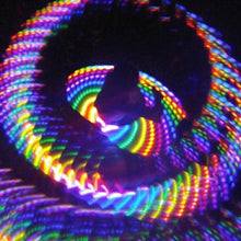 Load image into Gallery viewer, Chrome Spike Kaleidoscope Goggles with rainbow wormhole lenses, by GloFX.