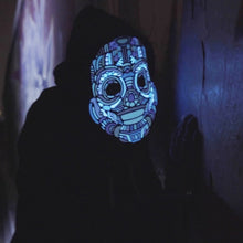 Load image into Gallery viewer, Outline® Y-Robot Light up LED Mask