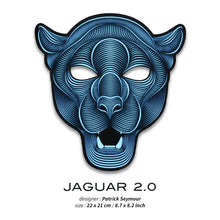 Load image into Gallery viewer, Outline® Jaguar 2.0 Light up LED Mask