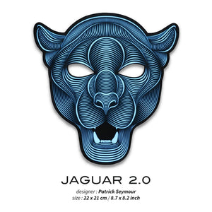 Outline® Jaguar 2.0 Light up LED Mask