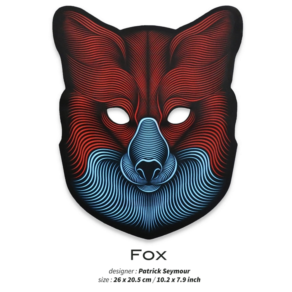 Outline® Fox Light up LED Mask