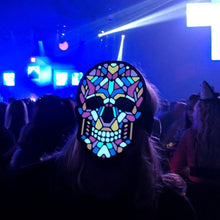 Load image into Gallery viewer, Outline® Sugar Skull Light up LED Mask