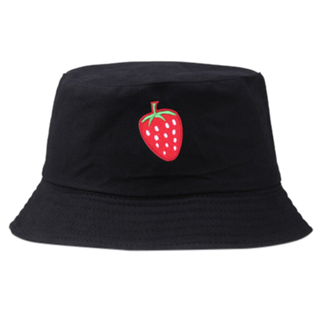 Strawberry Bucket Hat - All Colours (3)