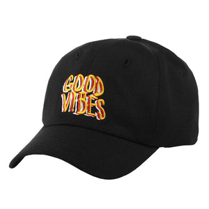 Good Vibes Baseball Cap - Pink