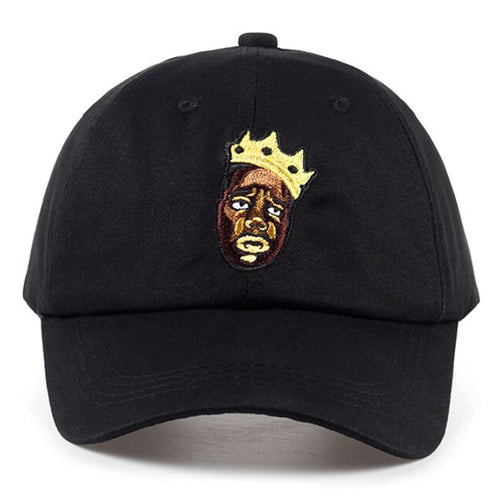 The NOTORIOUS! ... Detailed Biggie Smalls Baseball Cap - Black