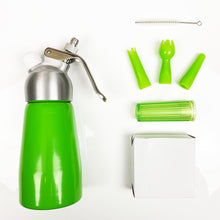 Load image into Gallery viewer, High Quality AMC 250ml N20 / Whipped Cream Dispenser - Lime Green