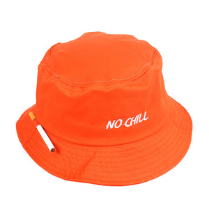 The 'No Chill' Smoker's ♨️ Bucket Hat ft. Convenient Cigarette Holder on Side of Hat - Black