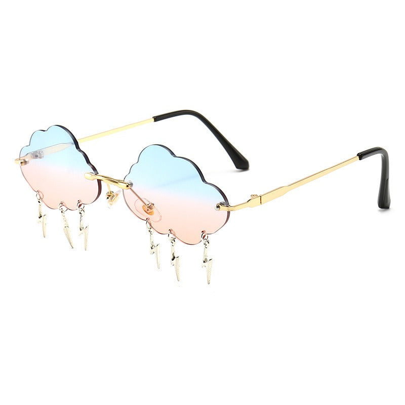 Storm 🌩 – Women's Sunglasses – Gold & Blue, Pink