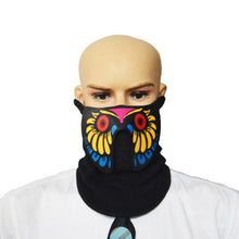 Load image into Gallery viewer, Luminous Sound Reactive Face Mask - Yellow Venom