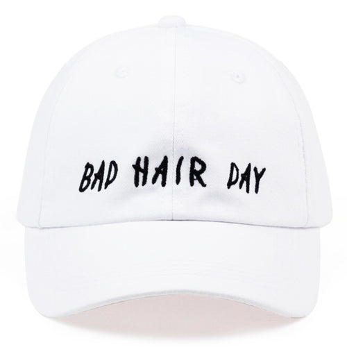Bad Hair Day 👎✂️ Cap - White