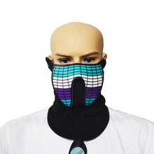 Load image into Gallery viewer, Luminous Sound Reactive Face Mask - 9 to choose from