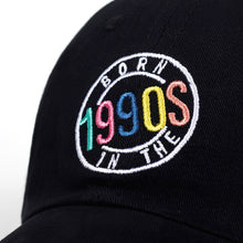 Load image into Gallery viewer, 90's Baby! Cap - Black