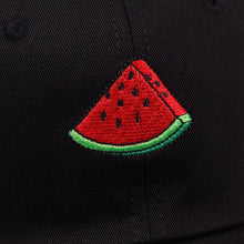 Load image into Gallery viewer, The Watermelon Cap 🍉🌞 - Black