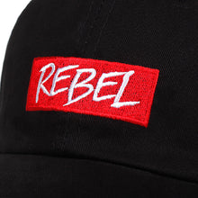 Load image into Gallery viewer, Rebel Baseball Cap - Black