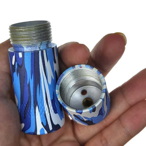 Camouflage 8g Aluminium N20 Mini Dispenser / Cracker - All Colours (4)