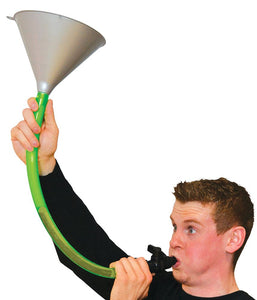 One Person Beer Bong with Large Funnel 🍺