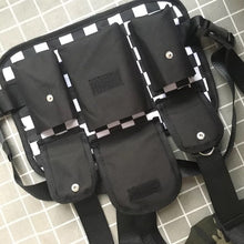 Load image into Gallery viewer, Men's Chest Rig Bag Black & White - Chess Master (Two Designs)