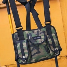 Load image into Gallery viewer, Men's Chest Rig Bag - Special Ops - Green Camouflage