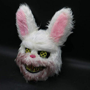 Blood Thirsty Halloween Bunny Mask - For Men & Women