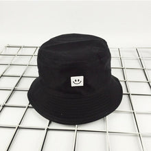 Load image into Gallery viewer, Keep Smiling Bucket Hat - White