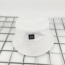 Load image into Gallery viewer, Keep Smiling Bucket Hat - Black