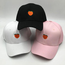 Load image into Gallery viewer, Peach Emblem - Baseball Cap - Pink