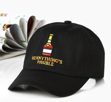 Load image into Gallery viewer, The Henny Lover's Cap (Multiple Colours)