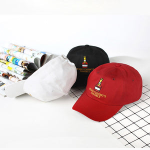 The Henny Lover's Cap - Red