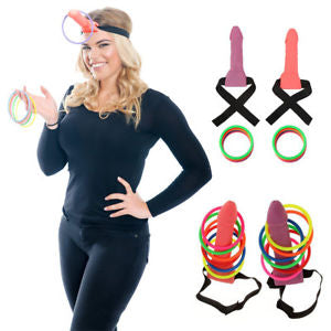D**khead Hoopla - The Willy Ring Toss Game