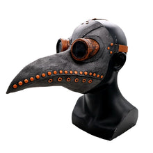 Load image into Gallery viewer, Medieval Steampunk Plague Doctor Mask with Birdlike Beak! - All Designs (7)