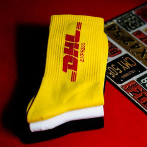 DHL Courier Socks 🔌 - All Colours (8)