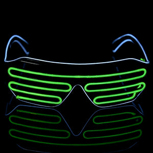 Flashing LED Rave Glasses