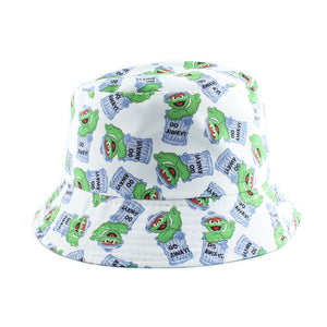 Oscar the Grouch edition - Cartoon Series Bucket Hat