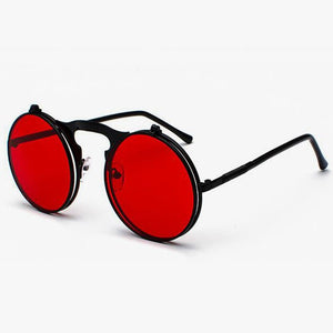 Flip The Script - Sunglasses With Flip Frames - Black Frames + Black Lenses