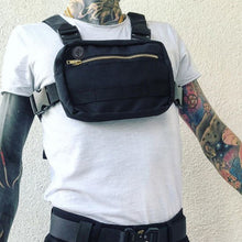 Load image into Gallery viewer, Men's Grey Mini Chest Rig Bag - Stealth Mission
