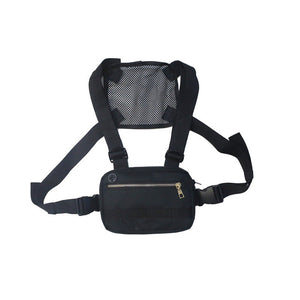 Men's White Mini Chest Rig Bag - Stealth Mission