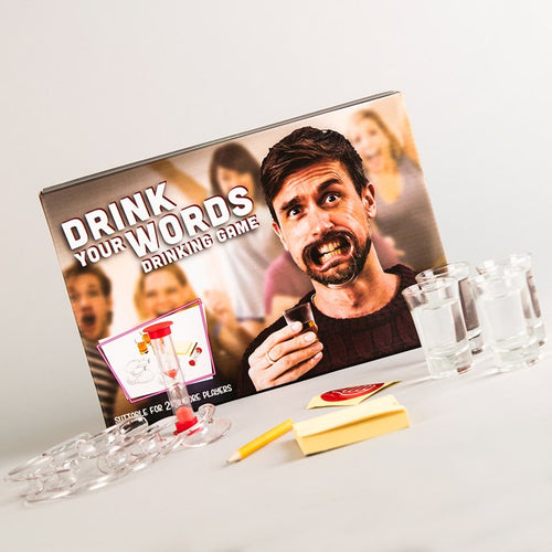 Drink Your Words - Drinking Game