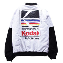 Load image into Gallery viewer, Kodak Bomber Jacket - White