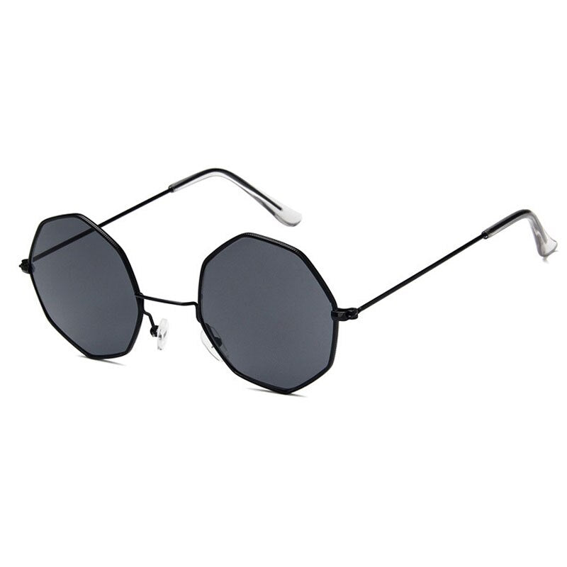 Smooth Operator - Vintage Party Sunglasses - Black Frame + Black Lenses