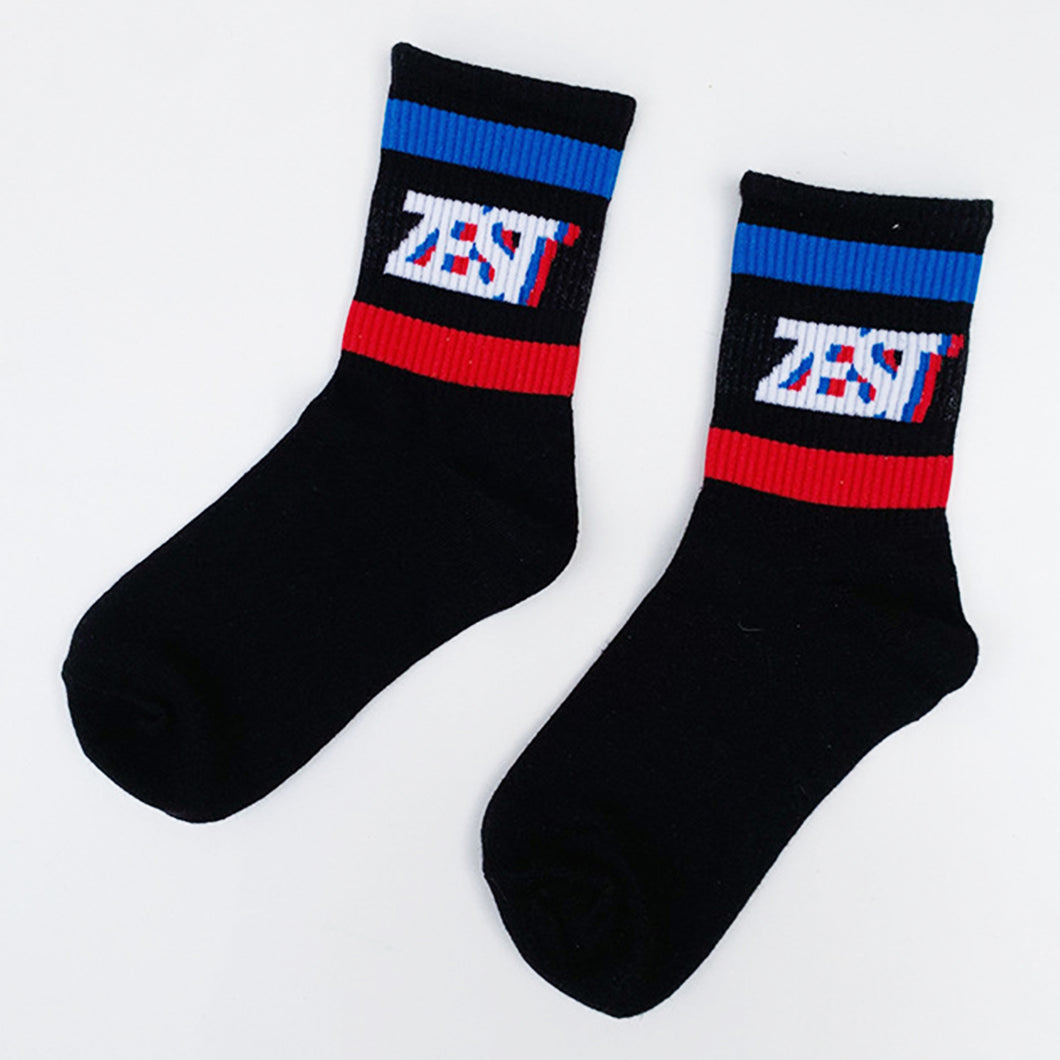 Zest 🍋 Socks - Black