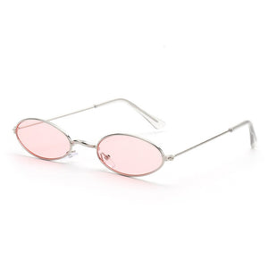 Old Skl Cat Eye Rave Shades Glasses 😎 - Pink