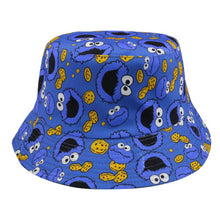 Load image into Gallery viewer, Cookie Monster 4th Edition Bucket Hat - Blue & Black