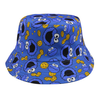 Cookie Monster 4th Edition Bucket Hat - Blue & Black