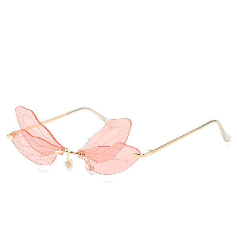 Dragon-Fly 🧚‍♀️ – Women's Sunglasses – Gold & Pink
