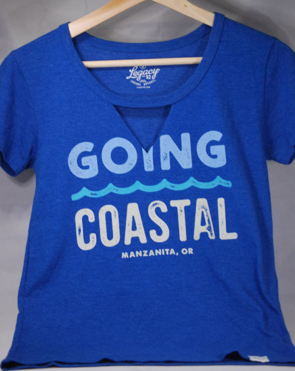 Blue 84 Goin' Coastal V-Neck T-shirt