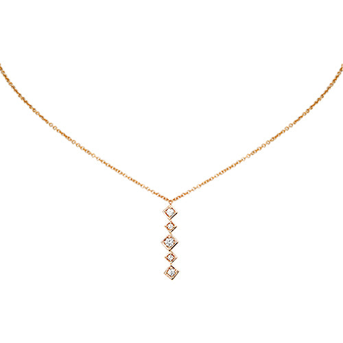 Lex Linear Diamond Pendant
