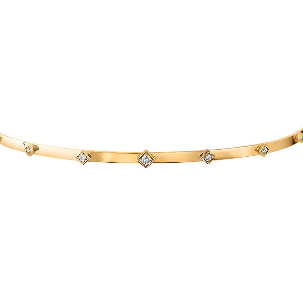 Lex Gold and Diamond Choker