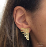Holy Chic Chandelier Earclimbers