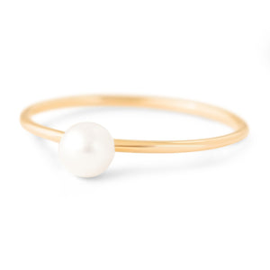 Diana Single Pearl Stack
